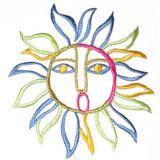 Sun Multi Outline