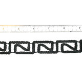 "Decorative Strip Black Revrec 7/8"" 12"" & up"