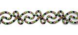 "Decorative Strip Rope Swirl Calypso 12"" & up"