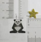 "Star 1/2"" (13mm) Metallic Gold"