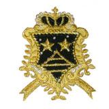Black & Gold Crest