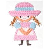Girl Cross Stitch Style