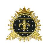 Black & Gold  Crest B