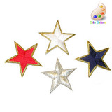 """Star 1 7/8"""" Bordered *Colors* 10 Pieces"""