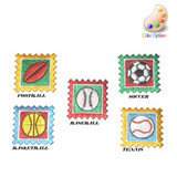 Football Tennis Soccer Basketball Baseball Patch