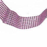 "Jewel Effect Trim 1 1/2"" Fucshia By The Yard"