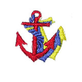 Anchor tri color 10 pack Red/Royal/Yellow