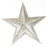 "Star Metallic Silver 2 7/8"""