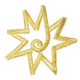 Star Center Swirl Gold