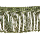 "Bullion Fringe 2 1/2"" Green 2 3/4 yARDS"