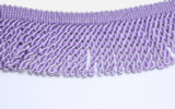 "Chunky Bullion 2 1/2"" (63.50mm) drop Lavender Priced Per Yard"