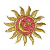 Sun Metallic with Moon & Star