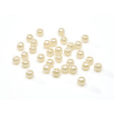 Beads 4mm Faux Pearl Cream 240 piece pack