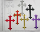 "Latin Cross 4 3/4"" x 2 7/8"" (121mm x 73mm)"