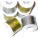 Cord 1mm Metallic *Colors* 100 Yard Roll