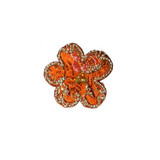 Brocade Flower with Beads