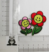 Smiley Daisy Red & Pink