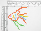 Fish Outline Colorful Iron On Patch Applique
