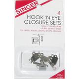 Hook & Eye Closure Pack of 4