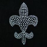 Crystal Fleur De Lys Mardi Gras