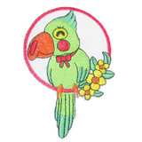 Parrot in Ring.