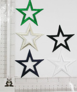 """Open Star 2 3/4"""" (69.85mm) *Colors*"""