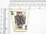 King Of Spades Patch Embroidered Iron On Applique