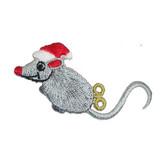 Christmas Clockwork Mouse Left