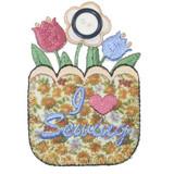 Sewing Flower Basket