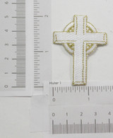 White and Gold Cross