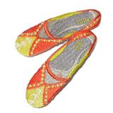 Orange Slippers