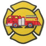 Fire Truck in Emblem