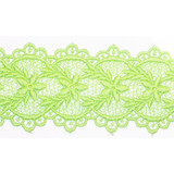 """Venise Lace 2 5/16"""" Galloon Lime Per Yard"""