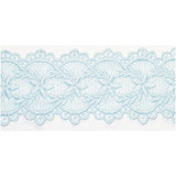 """Venise Lace 2 5/16"""" Galloon Blue Per Yard"""