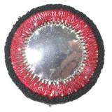 Circle Mirror Red