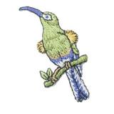 Wild Bird on Branch.