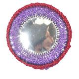 Circle Mirror Purple