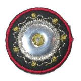 Round Mirrored Medallion