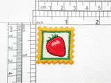 Strawberry Patch Country Style Iron On Patch Applique