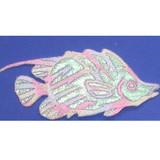 Pastel Sparkle Fish Iron On Patch Applique
