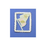 Nautical Rope with Flag Pastel