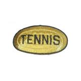 Tennis Metallic Oval
