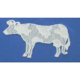 Venise Lace Applique - Cow Sew On