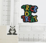 Trick Or Treat - Iron On Patch Applique