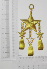 Nautical Star with Tassels