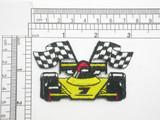 Race Car Iron On