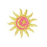 Sun Metallic with Moon & Star.