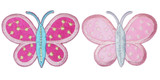 "Butterfly 2 3/4"" Dandy Dots Large *Colors*"