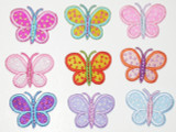 "Butterfly 1 3/8"" Dandy Dots *Colors*"