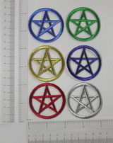 Pentagram Pentacle in Metallic